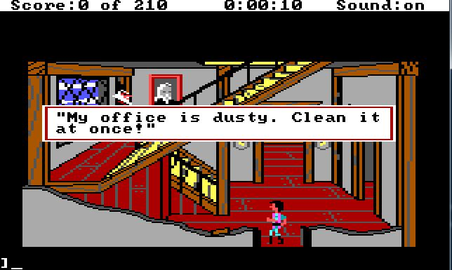 The adventure gamer game 5 kings quest iii adventure line of sight a lot of trouble locating even though i was pretty sure i knew exactly where they were in particular the magic map and the key to manannans cabinet fandeluxe Gallery