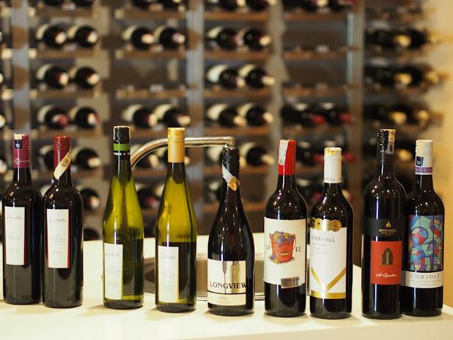 Impressive Wine Selections