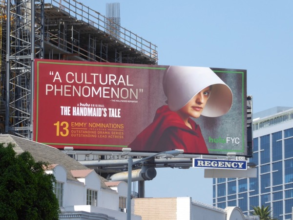 Handmaids Tale 2017 Emmy nomination billboard