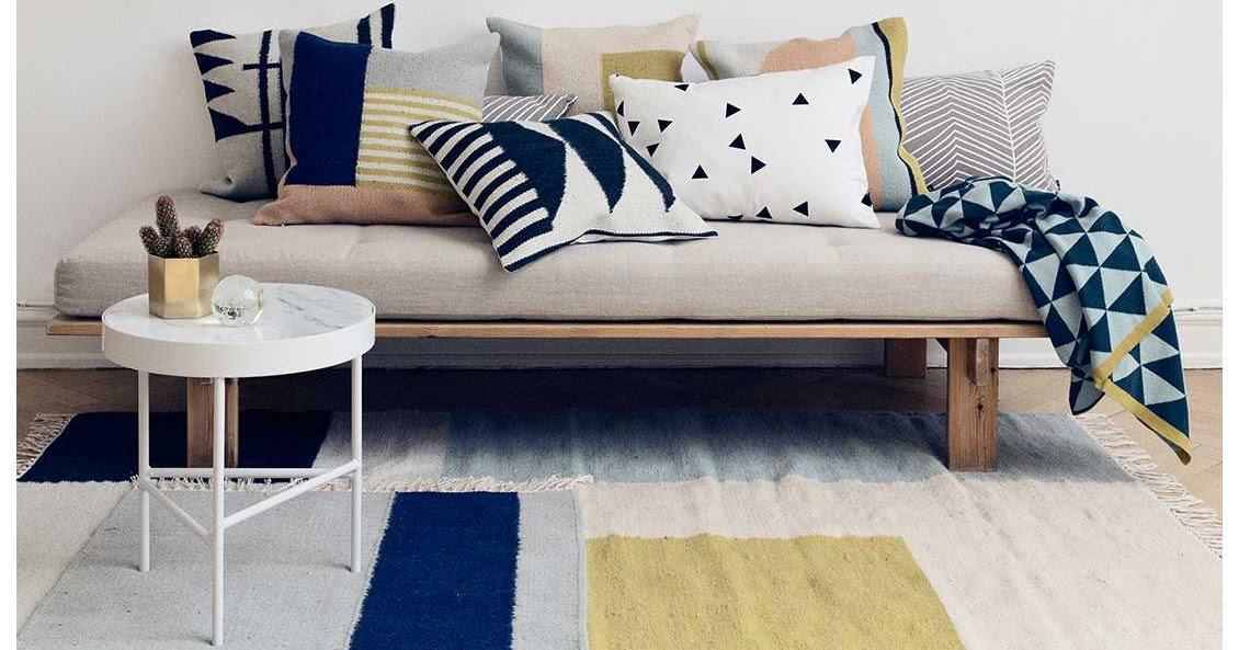Kussen Ferm Living : Scandinavisch interieur ferm living