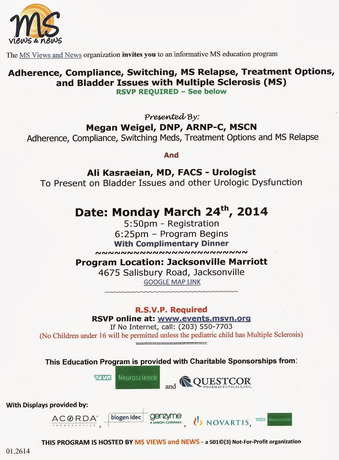MS Views and News:: Bladder Issues and other Urologic