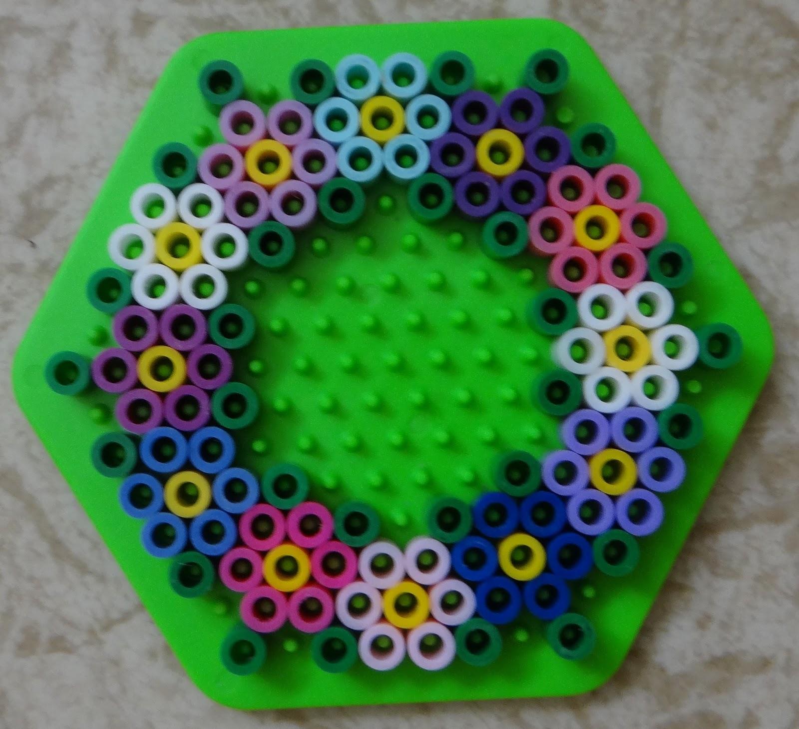 Small Circle Perler Bead Patterns - Bead Pattern (Free)