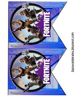 Fiesta de Fortnite: Mini Kit para Imprimir Gratis.