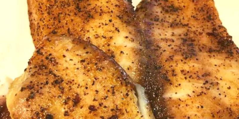 How to Make  Air Fryer Blackened Titapia