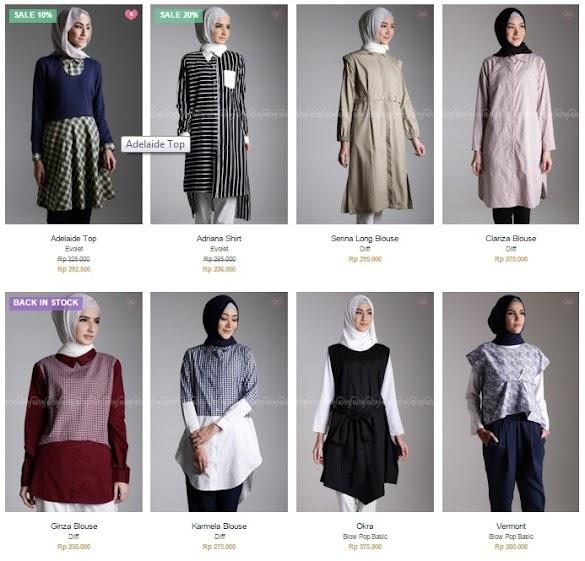 Blouse Online Shop Hijup akan di Tampilkan di Ajang Indonesia Fashion Week 2016