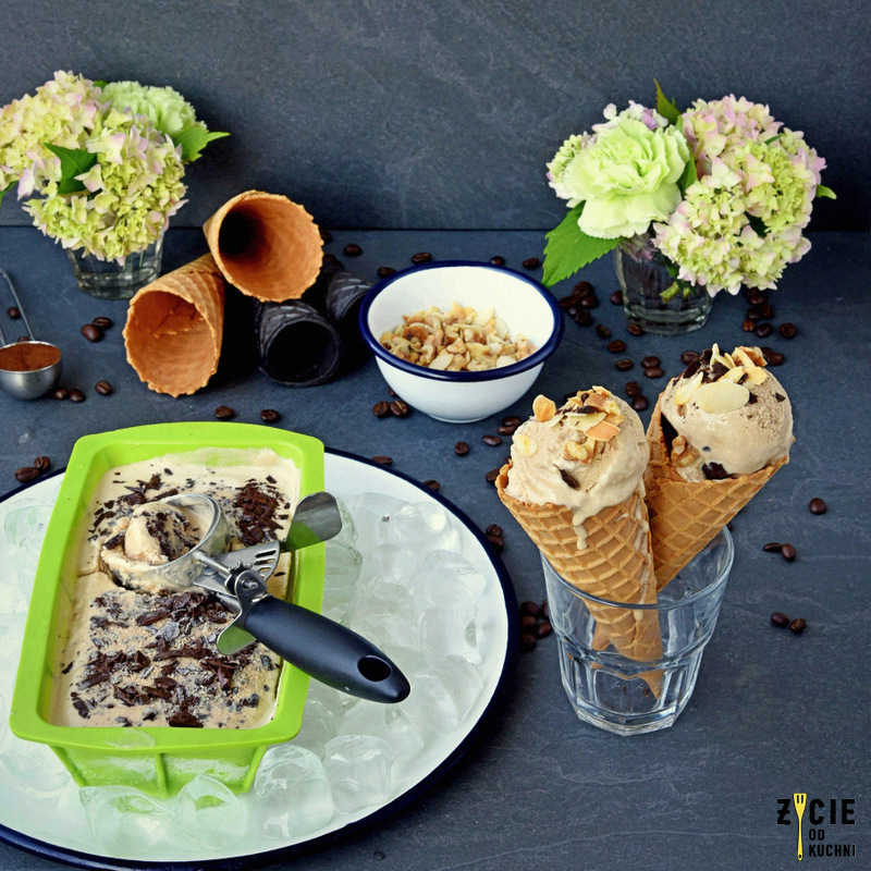 lody domowe, lody, cafe silesia, kawa, najlepsze lody, przepis na lody, jak zrobic lody,kawowe lody, lody w rozku
