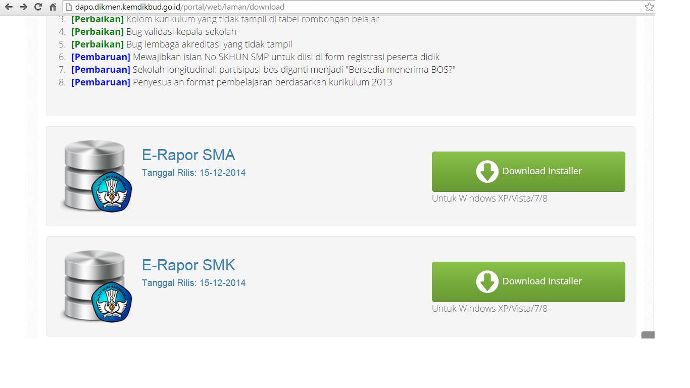 Kemdikbud Rilis E-Rapor Untuk SMA dan SMK