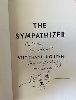 The Sympathizer by Viet Thanh Nguyen Autograph