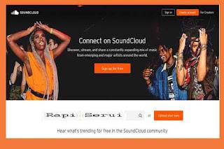 Peranan SoundCloud Bagi Blog Rapi Serui