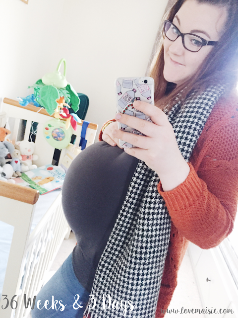Bump update | Weeks 35 + 36 | Pregnancy Updates | Love, Maisie