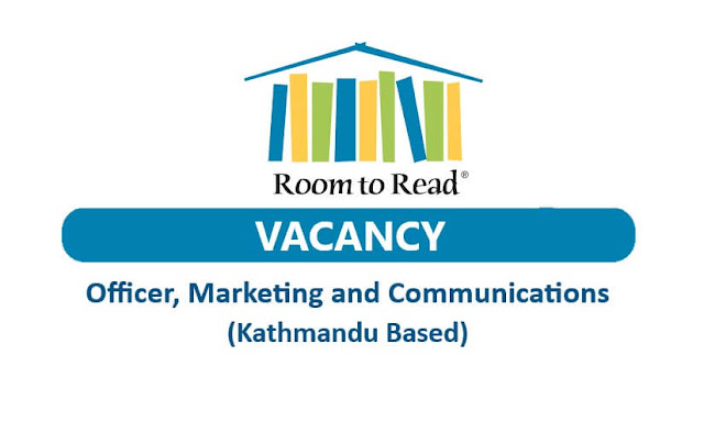Room to Read Vacancy Notice for Officer, Marketing and Communications.