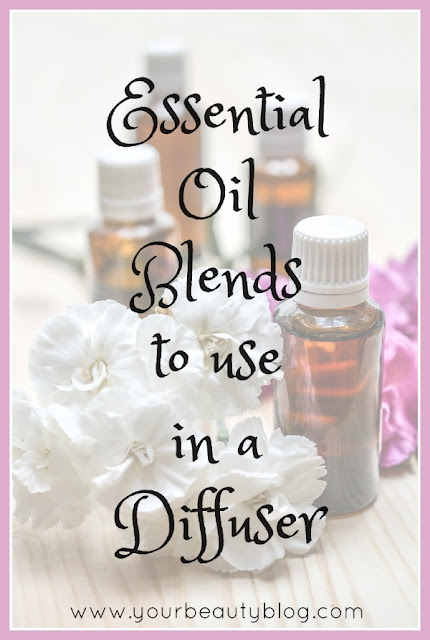 Over 25 essential oil blends to use in a diffuser.