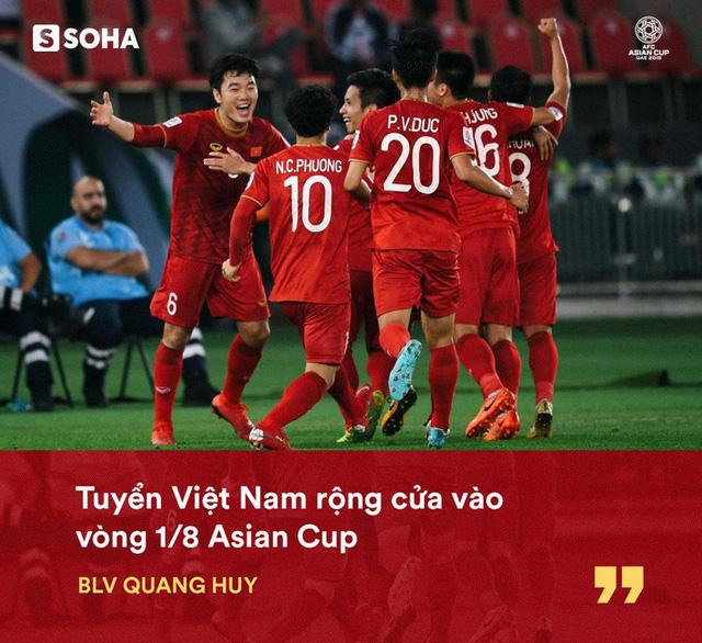 thầy trò HLV Park Hang-seo đã có khẩu quyết để thành công