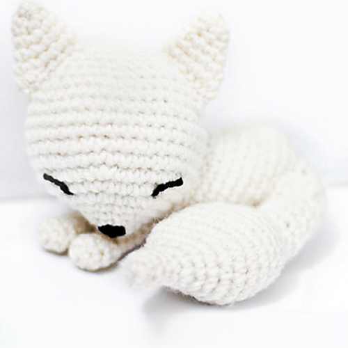 Sleepy Fox Amigurumi - Crochet Pattern