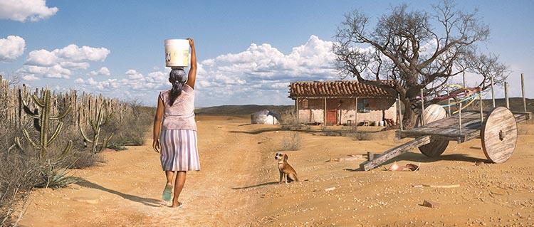 Família no sertão leva 36 dias por ano procurando água para consumo humano