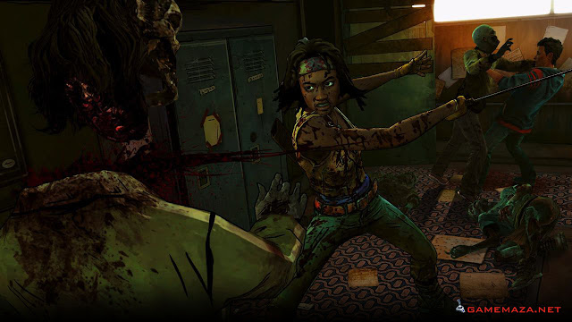 The Walking Dead Michonne Gameplay Screenshot 4