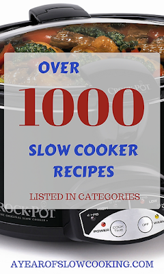 The largest collection of free slow cooker recipes on the internet. All recipes can be made gluten free. Recipes written by slow cooking expert Stephanie O'Dea from the A Year of Slow Cooking website.
