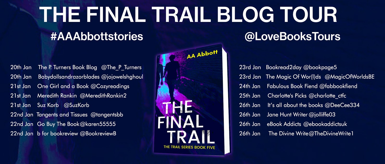 The Final Trail by AA Abbott Book Tour