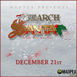 MadPea's Search For Santa