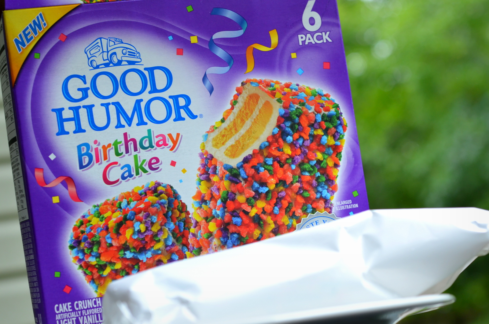 Food And Ice Cream Recipes REVIEW Good Humor Birthday Cake