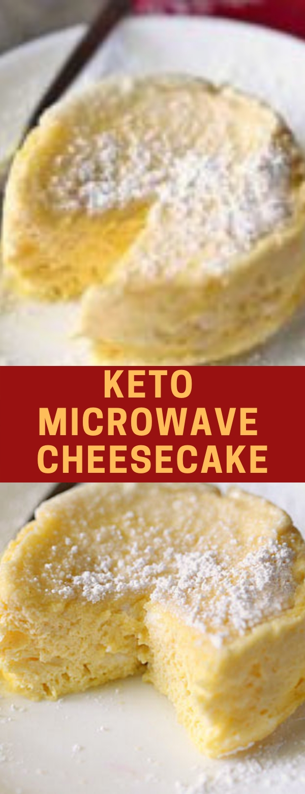 Keto Microwave Cheesecake