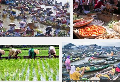 Kegiatan Ekonomi penduduk Indonesia