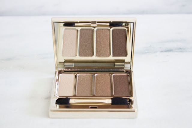 palette clarins brown
