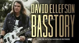 Encuentro con DAVID ELLEFSON en Colombia