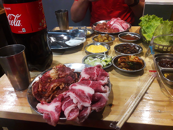 Lets eat unli Korean BBQ