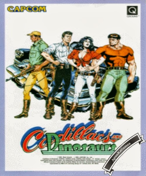 Cadillacs and Dinosaurs Cover, Poster