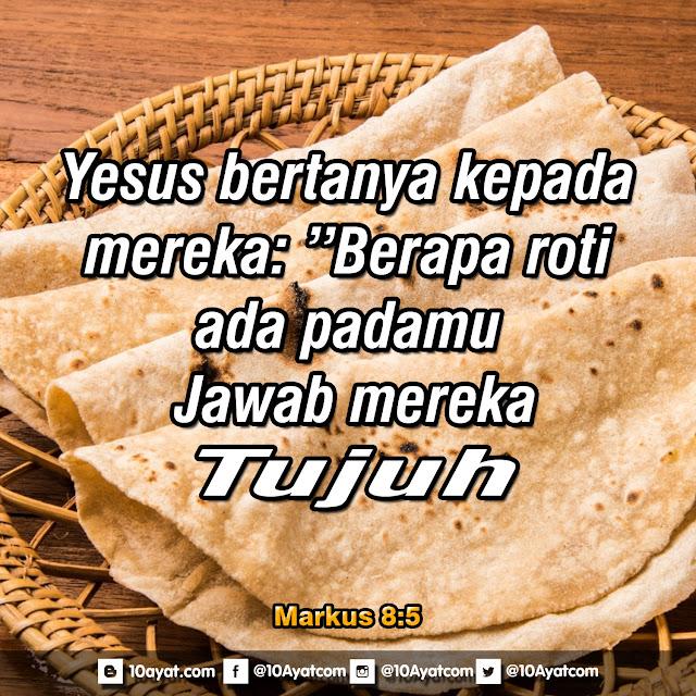 Markus 8:5