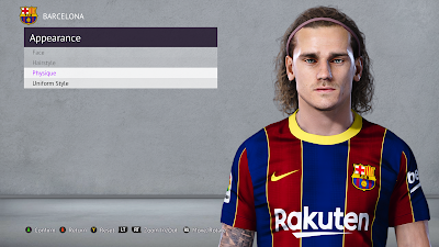 PES 2021 Faces Antoine Griezmann for PES 2020