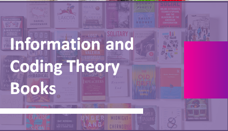 Information and Coding Theory Books