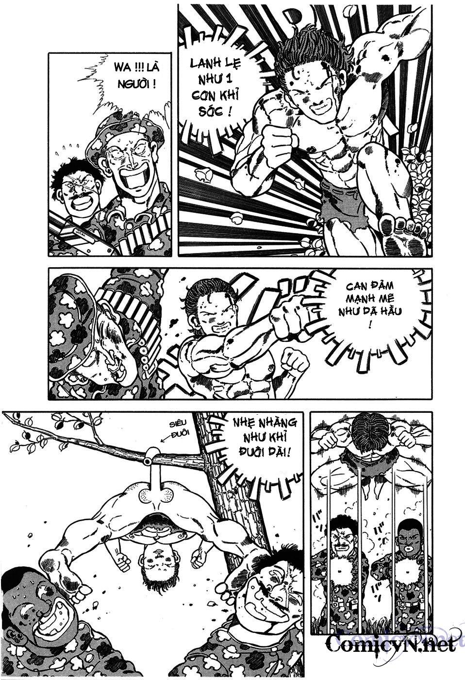 Chúa rừng Ta-chan chapter 6 trang 5