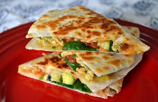 healthy breakfast alternatives, zucchini blender bread recipe, breakfast quesadilla