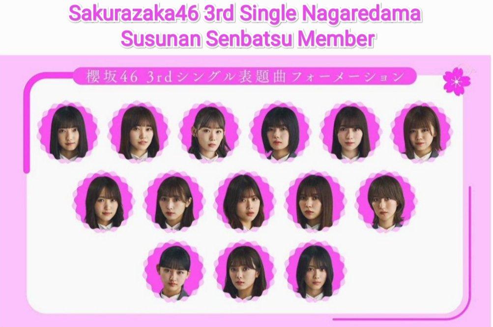 sakurazaka46 nagaredama mv lirik