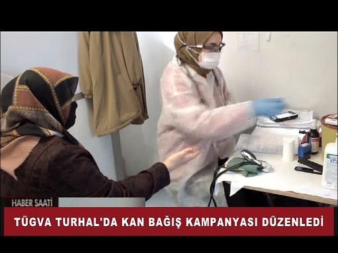 TURHAL'DA KAN BAĞIŞ KAMPANYASI DÜZENLENDİ
