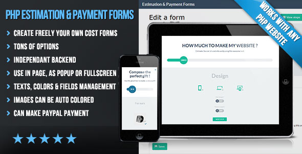 Download Free CodeCanyon - PHP Cost Estimation & Payment