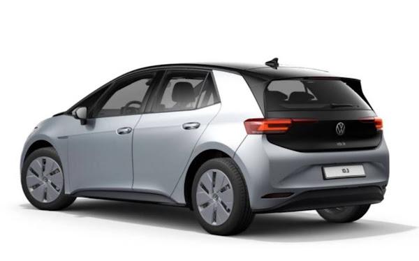 Volkswagen ID.3 ganha nova versão de acesso abaixo de € 22 mil