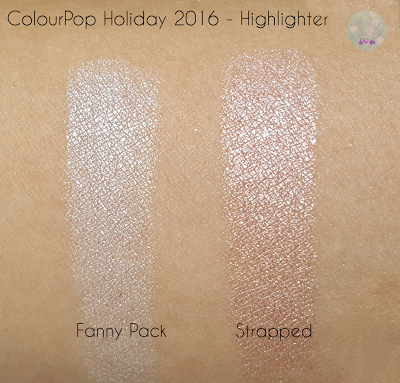 ColourPop Holiday 2016 - Fanny Pack & Strapped | Kat Stays Polished