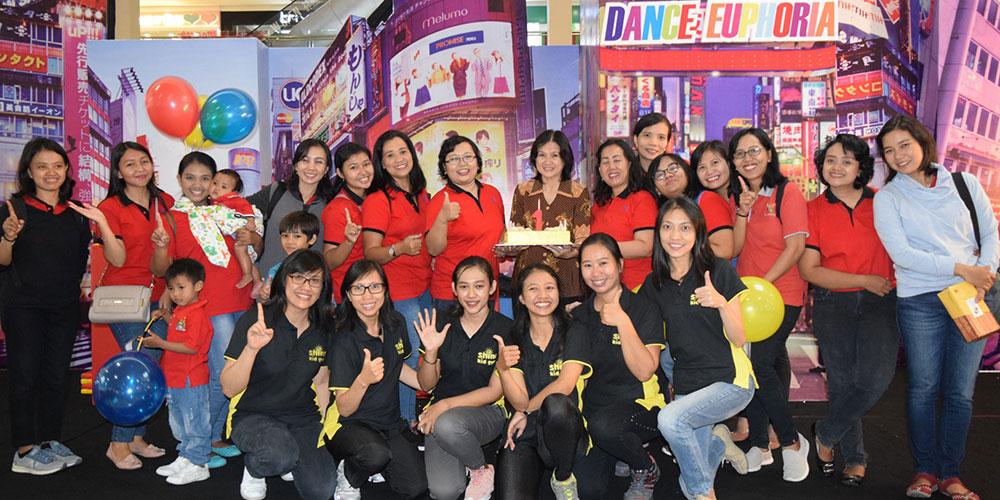 Shine Kid Gym Kalam Kudus Rayakan 1st Anniversary