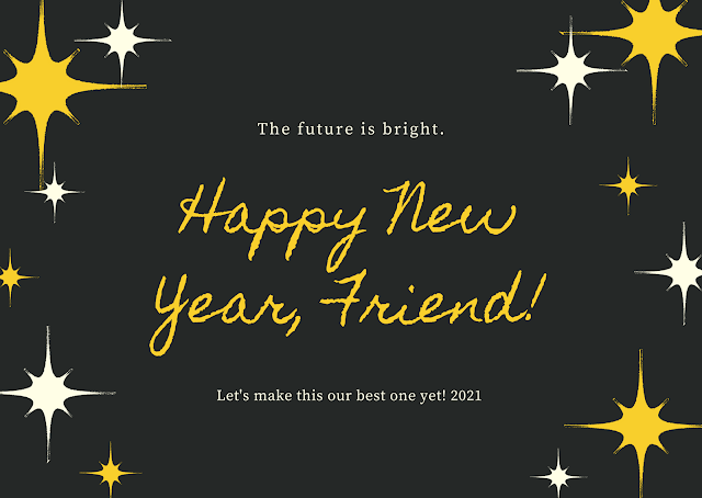 happy new year friend
