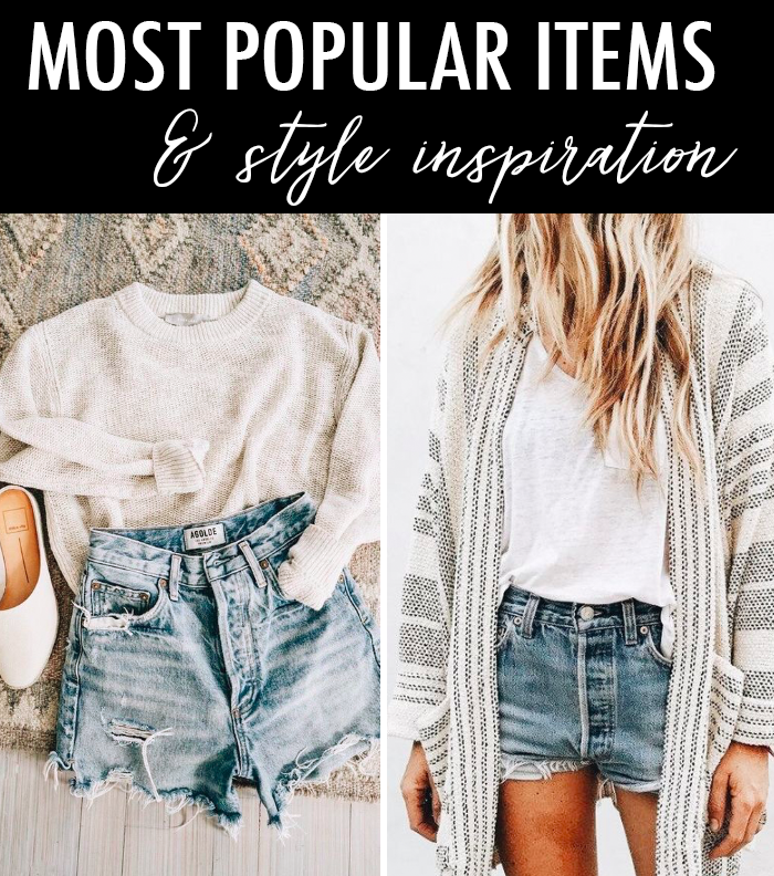 white denim shorts, summer casual outfit, best weekend deals