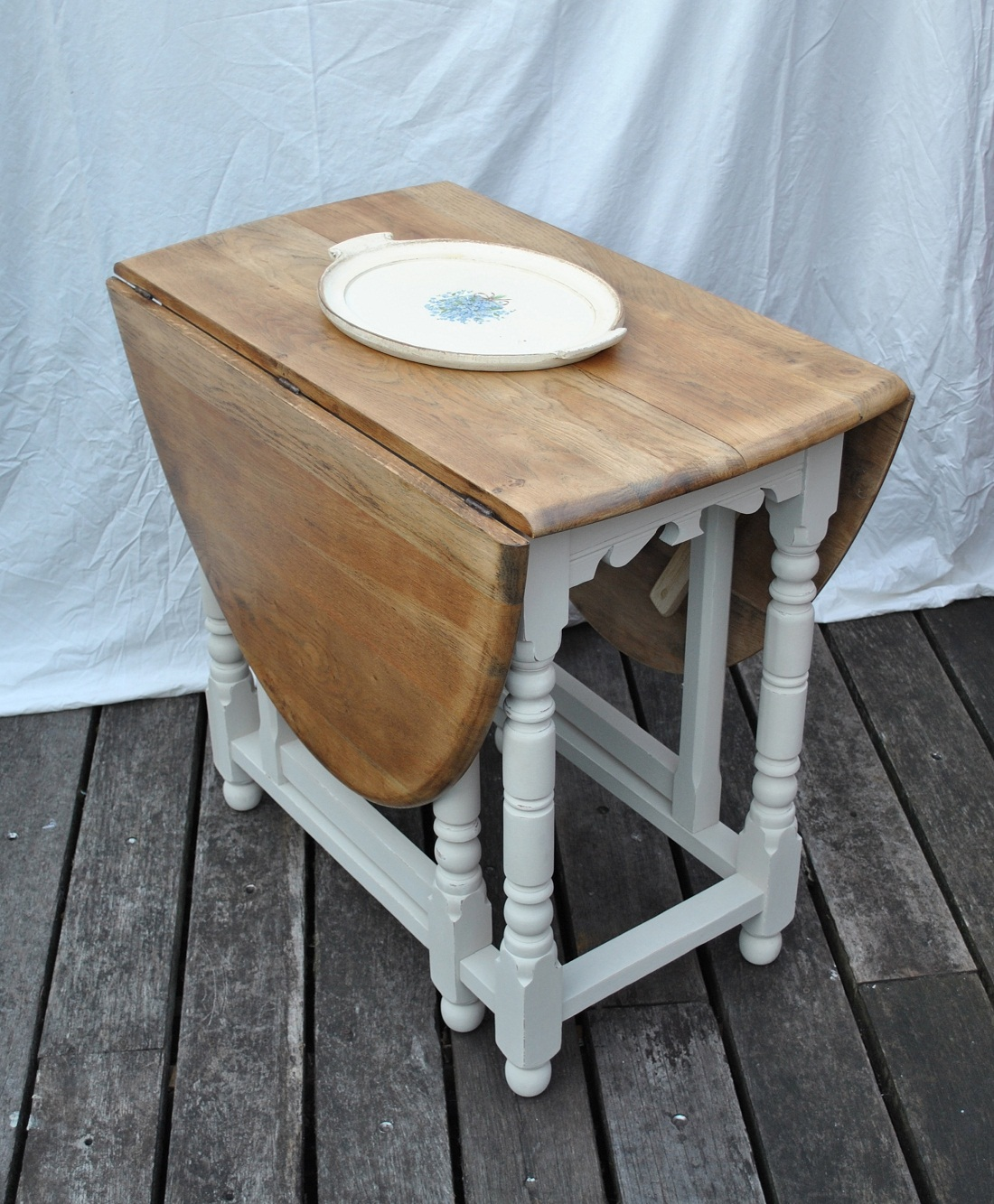 Oak Drop Leaf Table Cocoon For Famous Oak Leaf Table Top Photo . Full resolution  img, nominally Width 1100 Height 1333 pixels, img with #6B4D32.