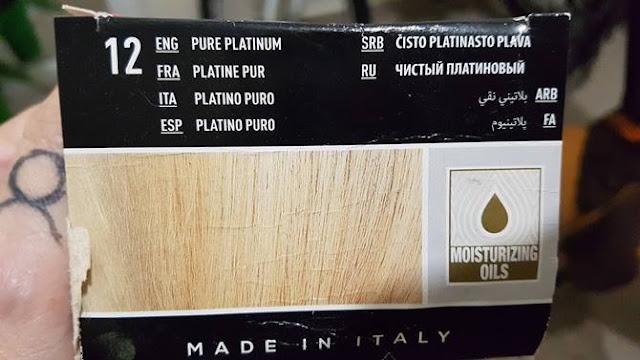 tinta de cabelo Il salone 12.00