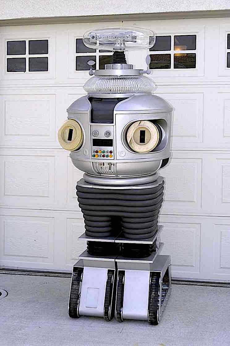 a color photograph of Robot from the 1960s television series Lost in Space