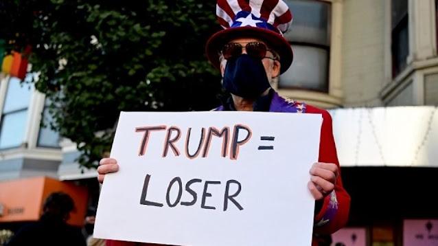 Balik ke Gedung Putih, Donald Trump Diteriaki Pecundang