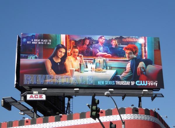 Riverdale series premiere billboard