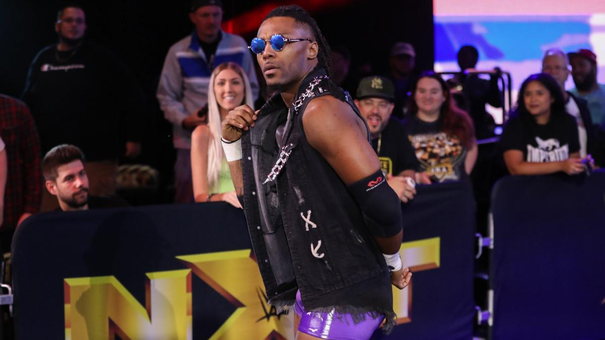 "Isaiah ""Swerve"" Scott conquista o NXT North American Championship"