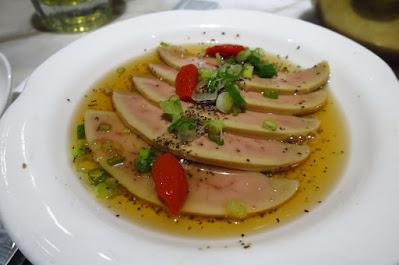 Social Place, foie gras rice wine